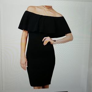 Almost Famous Off The Shoulder Dress Sz. LG NWT